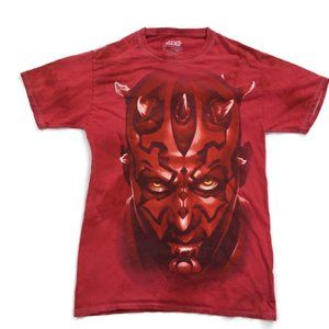 Vintage Star Wars Darth Maul Shirt From 90's Small